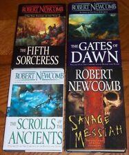 LOT 4 Robert Newcomb FIFTH SORCERESS GATES SCROLLS OF ANCIENTS SAVAGE MESSIAH HC