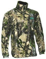 Ridgeline Micro Fleece Zip Hunting Top Buffalo Camo
