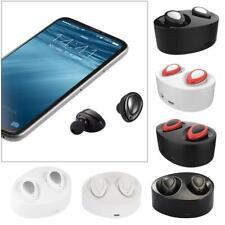 Mini TWS Twins True Wireless Bluetooth Stereo Headset In-Ear Earphones Earbud EL