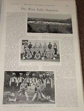 1898 WEST INDIA REGIMENT SGT & CORPORAL BUGLER 2ND WIR