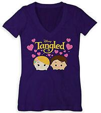 Disney Store Tangled Tsum Tsum  Rapunzel Flynn Women T - Shirt Size  XS S M L