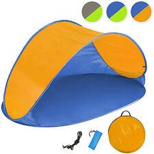 Tenda popup da spiaggia protezione UV sole campeggio parasole automatica