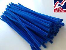 "10 - 100 x blu ciniglia Craft STELI TUBO ASPIRAPOLVERE 30CM (12 "") LONG, 6mm Wide"