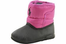 Polo Ralph Lauren Boots Vancouver EZ Crest Infant Girl's Fuchsia Shoes