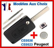 Coque Plip Clé Peugeot 107 206 207 307 308 SW 407 807 3008 5008 Partner Expert