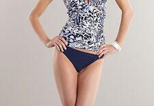 Jennifer Lopez bikini bottom navy blue select your size midnight
