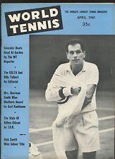 April 1961 World Tennis Magazine EX+