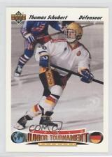 1991-92 Upper Deck French #681 Thomas Schubert Team Germany (National Team) Card