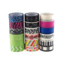 Masking Washi Tape, 5/8-Inch, 5 Yards, 3-Rolls - DISCONTINUED