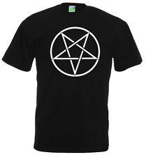 Pentagram T-Shirt |  Gothic | Punk | Rock | Black Metal | Drudenfuß     650-0-