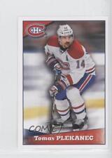 2012-13 Panini Album Stickers #75 Tomas Plekanec Montreal Canadiens Hockey Card