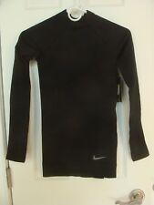 Women's Nike PRO Hyperwarm Training Top 803154 010 Black Size XS, S, M