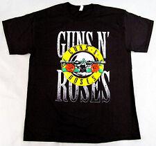 GUNS N ROSES T-shirt Hard Rock Tee Retro GnR Slash Axl Rose Adult S-3XL New