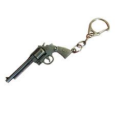 Waffen-Gewehr Schlüsselanhänger 3D Metallpistole, keyring, keychain (2 Stücke)