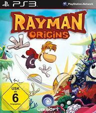PS3 Rayman Origins - KOMPLETT MIT BESCHREIBUNG