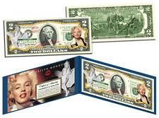 *Marilyn Monroe*$2 Bill-Genuine Legal Tender US Currency LICENSED -2 dollar gift