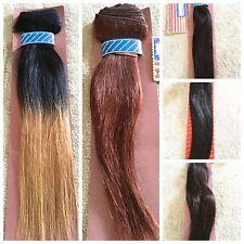 100% cabello humano por American Pride - 12, 14, 18 Pulgadas de euro y Yaki Tejido