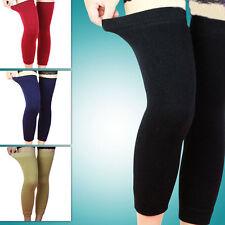 Popular Wool Thermal Knee Leg Warmer Long Socks Elasticated Kneepad CL