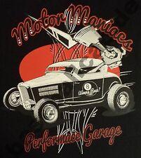 T-Shirt #578 MOTOR MANIACS,V8 Hot Rod Old School Rockabilly  Musclecar US Car