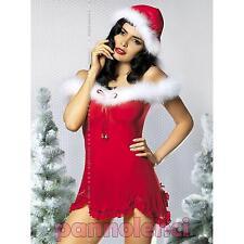 Obsessive HEARTBELL SET set natalizio tulle rosso marabou donna OBSESSIVE OB0724