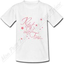 T-shirt Enfant Il était une fois Rose