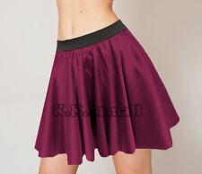 Violet Satin Mini Short Skirt For Sexy Dress Party Wear Skirt Sexy Mini Skirt