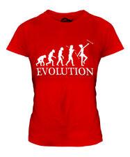 BATON TWIRLER EVOLUTION LADIES T-SHIRT TEE TOP GIFT TWIRLING COSTUMES