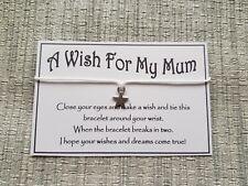 A Wish for my Mum * Wish * Wish Bracelet * Friendship * Gift * Favour