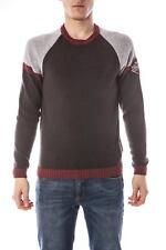 Maglia Armani Jeans AJ Sweater Pullover -50% Uomo Marrone U6W16KL-DD SALDI