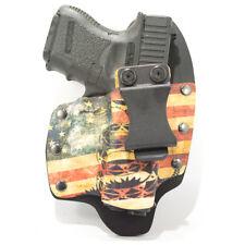 NT Hybrid IWB Holster for Glock Handguns, Don't Tread Snake