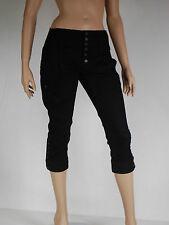 pantacourt jeans noir femme DIESEL modele toobut taille W 29 ( T 38 -  40 )