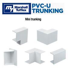 PVC Mini Cable trunking formes Connecteurs Accessoires Pour Marshall Tufflex Gamme