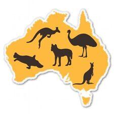 Australia Animals Local Native Car Vinyl Sticker - SELECT SIZE