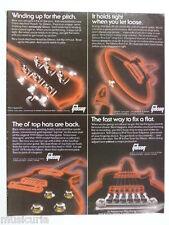 retro magazine advert 1980 GIBSON parts