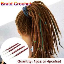 Plastic Handle Dreadlock Crochet Needle Hook Braid Maintenance Hair Making Tool