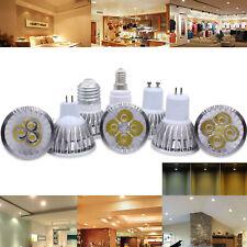Dimmable MR16 GU10 E27 E14 9W 12W 15W LED Spotlight Bulbs CREE Ultra Bright Lamp