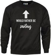 Preferirei essere in barca a vela-Vela Barca regali Youth & Felpa da uomo
