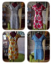 BODEN Funloving Dress UK 6 8 10 12 14 (German 32-40) Summer Cotton Crossover NEW