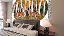 3D Cute deer Videos 1 WallPaper Murals Wall Print Decal Wall Deco AJ WALLPAPER