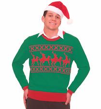 Naughty Reindeer Sex Ugly Christmas Sweater Tacky XMAS Holiday Sweatshirt