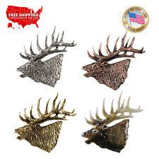Lapel Pin or Magnet, M001Pr Creative Pewter Designs Elk Bugling Premium