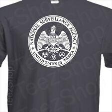 NSA parody NASTY SECRETS ACQUIRED Funny government surveillance Snowden T-Shirt