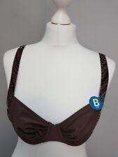 Schiesser Aqua Bikini Top Brown Size M/38B(Z33/18)