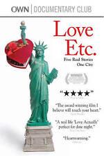 Love Etc., New DVDs