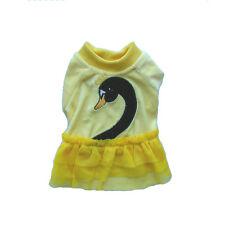 Pet Apparel - Dog Clothes - Yellow Swan Skirt (SGY002)