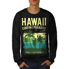 Hawaii Surf Paraíso Hombres Sudadera Nuevo | wellcoda