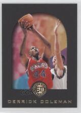 1995-96 Skybox E-XL #61 Derrick Coleman Philadelphia 76ers Basketball Card