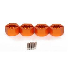 4Pcs Alloy front&rear wheel hex hub adaptor for rc car 1/10 Traxxas slash 4wd