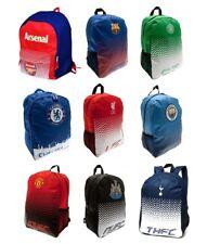 Football Team Backpack Rucksack School Bag Fade Design Boys Kids Gift Official