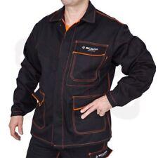 SCAPPA Protection Veste de soudeurs PROBAN 340g noir-orange
